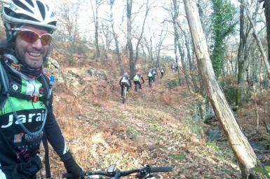 Rutas en bicicleta de montaña